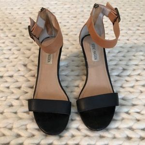 "Steve Madden ""Nanncy"" leather sandals - size 7.5"
